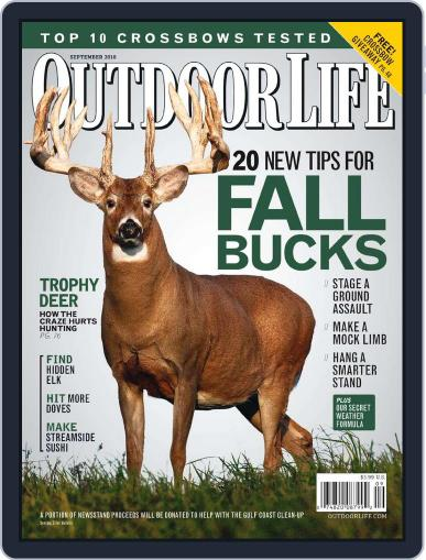 Outdoor Life August 7th, 2010 Digital Back Issue Cover