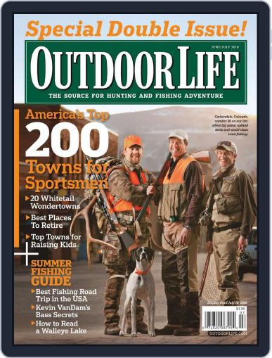 Outdoor Life May 15th, 2010 Digital Back Issue Cover