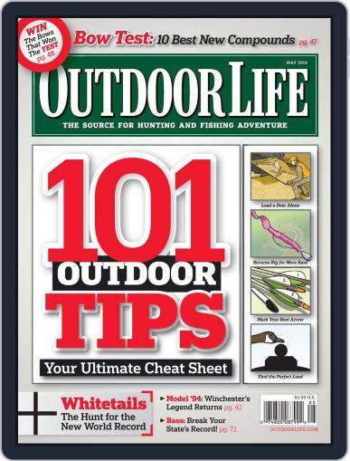 Outdoor Life (Digital) April 9th, 2010 Issue Cover