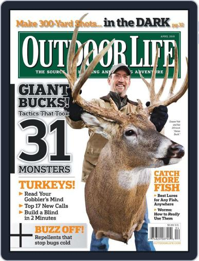 Outdoor Life (Digital) March 13th, 2010 Issue Cover