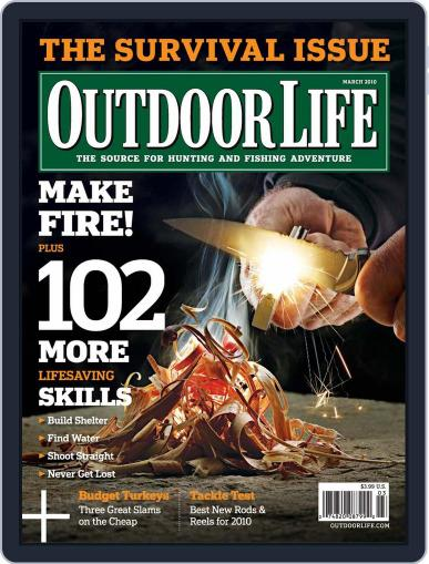 Outdoor Life (Digital) February 13th, 2010 Issue Cover