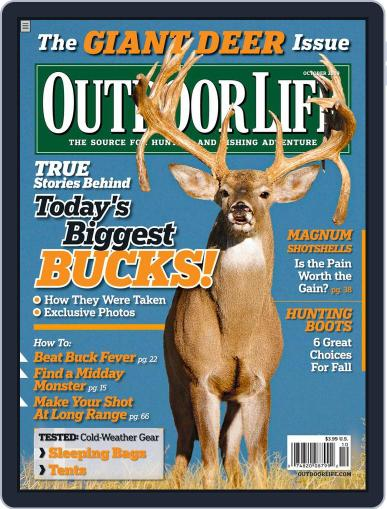 Outdoor Life (Digital) September 14th, 2009 Issue Cover