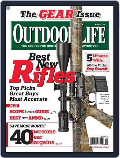 Outdoor Life (Digital) July 11th, 2009 Issue Cover