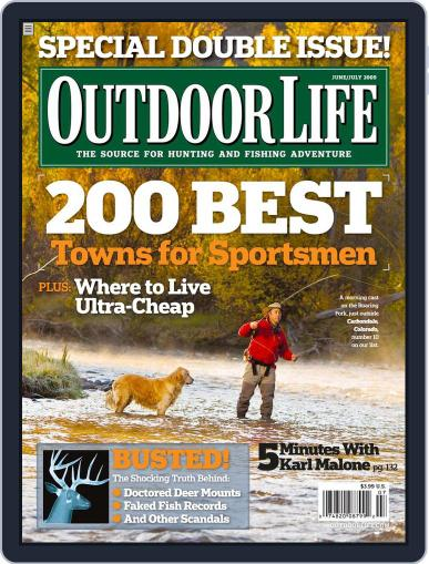 Outdoor Life May 16th, 2009 Digital Back Issue Cover