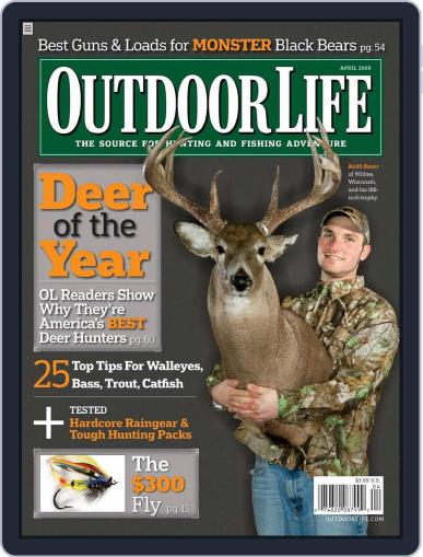 Outdoor Life (Digital) March 14th, 2009 Issue Cover