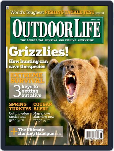 Outdoor Life (Digital) February 14th, 2009 Issue Cover