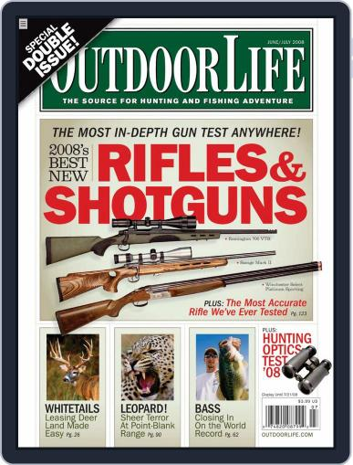 Outdoor Life (Digital) May 16th, 2008 Issue Cover