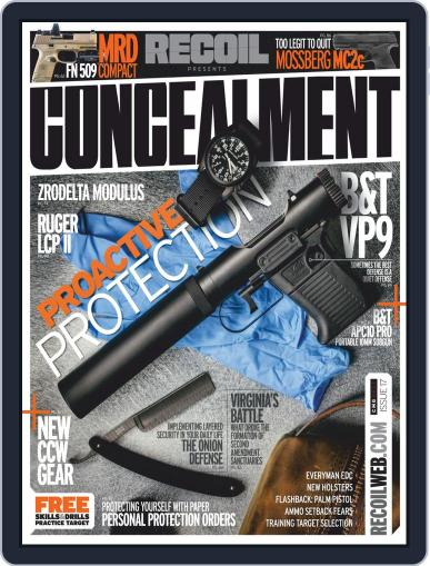 RECOIL Presents: Concealment May 5th, 2020 Digital Back Issue Cover