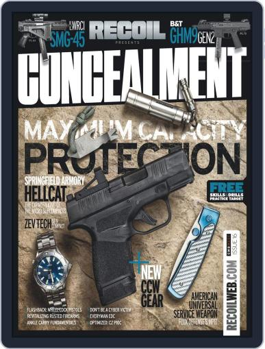 RECOIL Presents: Concealment November 4th, 2019 Digital Back Issue Cover