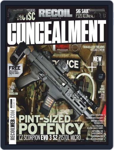 RECOIL Presents: Concealment July 2nd, 2019 Digital Back Issue Cover