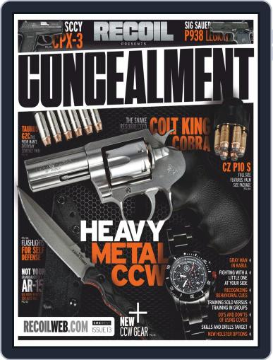 RECOIL Presents: Concealment (Digital) May 3rd, 2019 Issue Cover