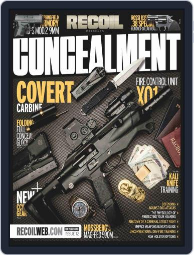 RECOIL Presents: Concealment (Digital) October 25th, 2018 Issue Cover