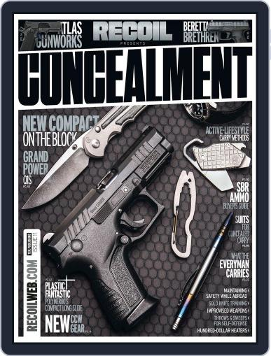 RECOIL Presents: Concealment August 23rd, 2018 Digital Back Issue Cover