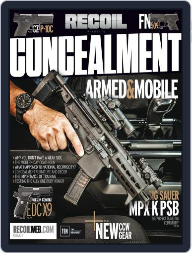 RECOIL Presents: Concealment August 24th, 2017 Digital Back Issue Cover