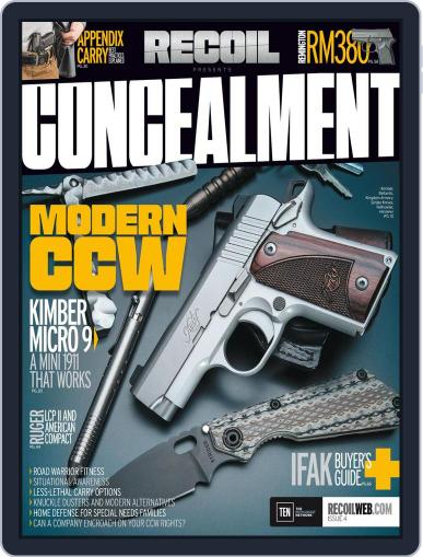 RECOIL Presents: Concealment (Digital) December 1st, 2016 Issue Cover