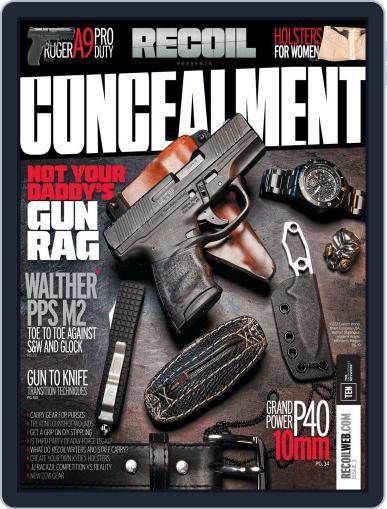 RECOIL Presents: Concealment (Digital) April 1st, 2016 Issue Cover