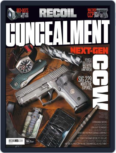 RECOIL Presents: Concealment December 1st, 2015 Digital Back Issue Cover