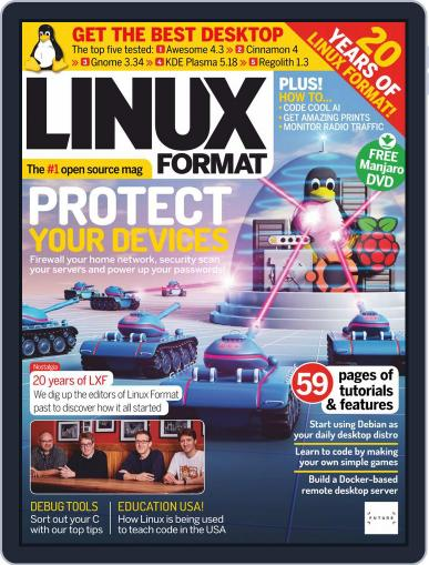 Linux Format May 1st, 2020 Digital Back Issue Cover
