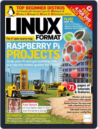Linux Format (Digital) March 1st, 2020 Issue Cover