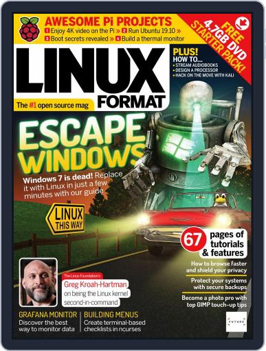 Linux Format (Digital) February 1st, 2020 Issue Cover