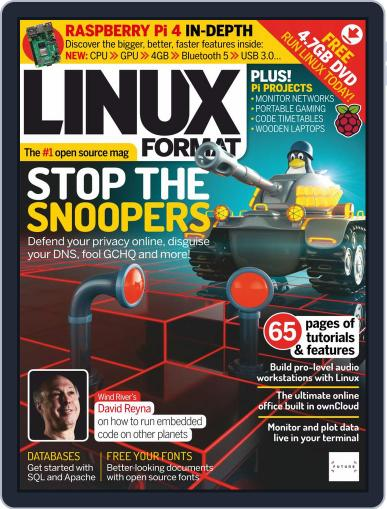 Linux Format (Digital) August 2nd, 2019 Issue Cover