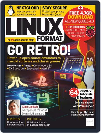 Linux Format (Digital) April 1st, 2019 Issue Cover