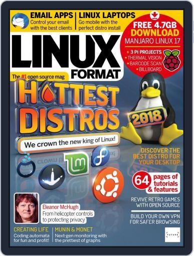 Linux Format October 1st, 2018 Digital Back Issue Cover