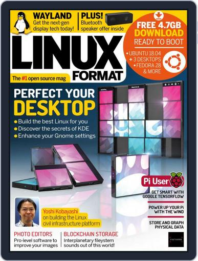 Linux Format (Digital) July 1st, 2018 Issue Cover