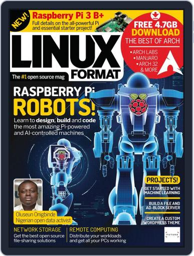 Linux Format (Digital) May 1st, 2018 Issue Cover