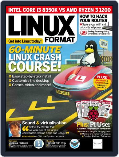 Linux Format (Digital) March 1st, 2018 Issue Cover