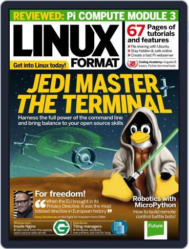 Linux Format April 1st, 2017 Digital Back Issue Cover