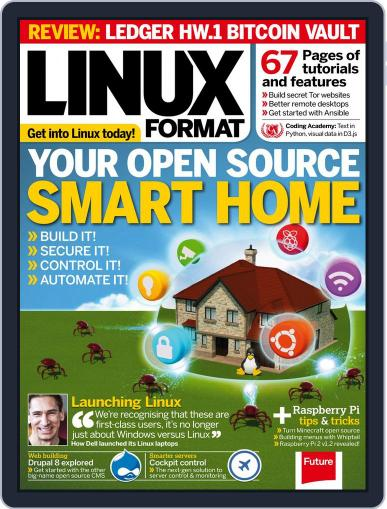 Linux Format (Digital) February 1st, 2017 Issue Cover
