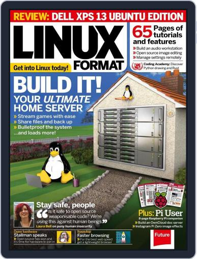 Linux Format July 7th, 2016 Digital Back Issue Cover