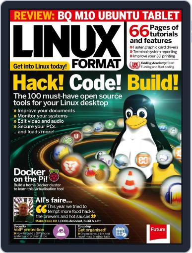 Linux Format (Digital) June 9th, 2016 Issue Cover