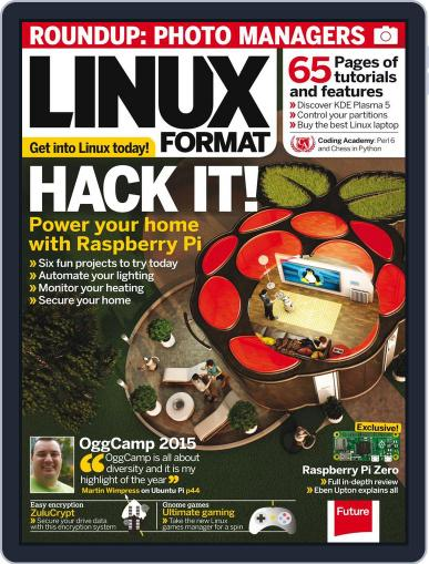 Linux Format (Digital) January 1st, 2016 Issue Cover