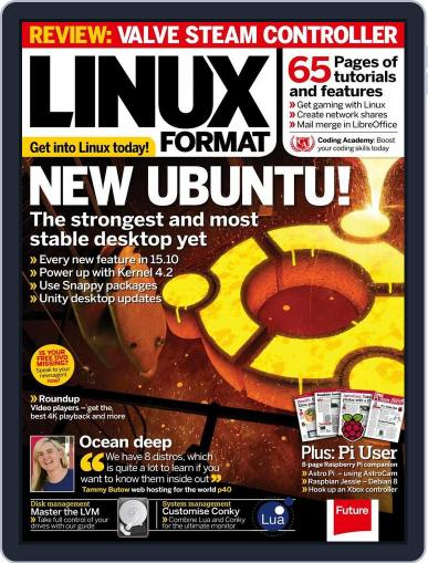 Linux Format (Digital) November 24th, 2015 Issue Cover