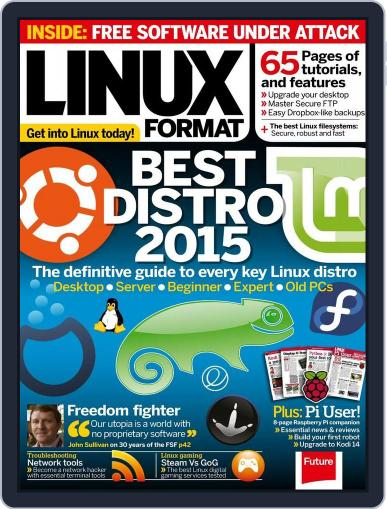 Linux Format (Digital) September 22nd, 2015 Issue Cover