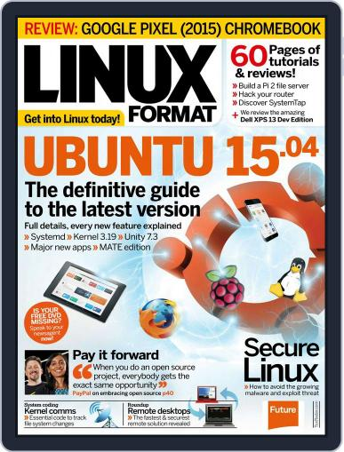 Linux Format (Digital) May 14th, 2015 Issue Cover