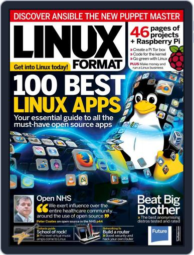 Linux Format March 18th, 2015 Digital Back Issue Cover