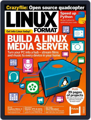 Linux Format (Digital) December 22nd, 2014 Issue Cover