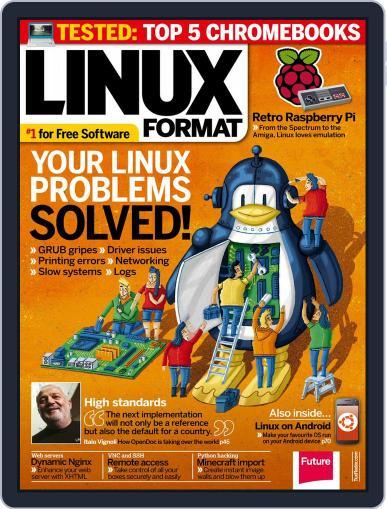 Linux Format (Digital) September 1st, 2014 Issue Cover