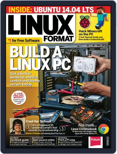Linux Format May 21st, 2014 Digital Back Issue Cover