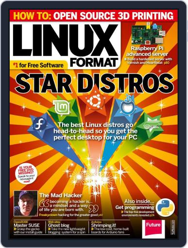 Linux Format March 26th, 2014 Digital Back Issue Cover