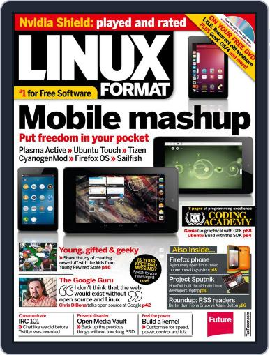 Linux Format (Digital) October 9th, 2013 Issue Cover