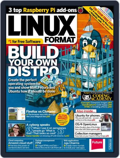 Linux Format (Digital) September 11th, 2013 Issue Cover