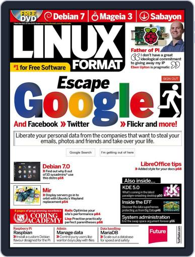 Linux Format June 19th, 2013 Digital Back Issue Cover