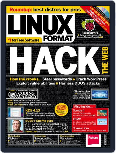 Linux Format (Digital) March 27th, 2013 Issue Cover