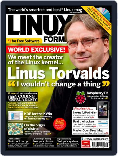 Linux Format (Digital) September 12th, 2012 Issue Cover