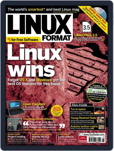 Linux Format (Digital) March 28th, 2012 Issue Cover