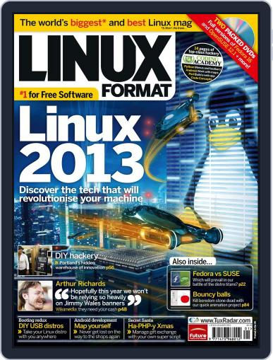 Linux Format (Digital) December 8th, 2011 Issue Cover